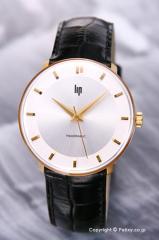 リップ LIP 腕時計 パノラミック ゴールド リング シルバー×ゴールド 187 29 72