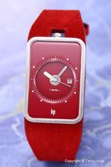 リップ LIP 腕時計 Fridge ルビー ヌバック ルビー 1870952