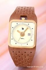 リップ LIP 腕時計 TV ゴールド キャラメル アイボリー レディース 1871052