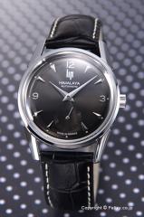 LIP リップ 腕時計 ヒマラヤ 1954 オートマチック ダークグレー/ブラックレザー 187 26 42
