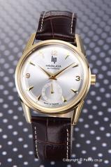 LIP リップ 腕時計 ヒマラヤ 1954 オートマチック シルバー×ゴールド/ブラウンレザー 187 26 32