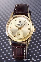 LIP リップ 腕時計 ヒマラヤ 1954 オートマチック ゴールド/ブラウンレザー 187 26 12