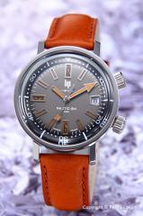 リップ LIP 腕時計 メンズ ノーティックスキー エレクトロニック グレー/ライトブラウンレザー 1873322
