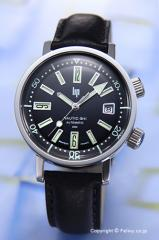 LIP リップ 腕時計 メンズ Nautic-Ski Automatic (ノーティックスキー オートマチック) ブラック 1873212