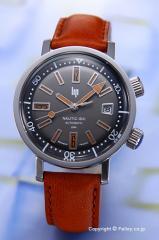 LIP リップ 腕時計 メンズ Nautic-Ski Automatic (ノーティックスキー オートマチック) グレー 1873222