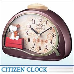 CITIZEN時計 シチズン キャラクタークロック4SE506MJ09 キャラクター時計 スヌーピーR506