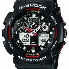 海外CASIO 海外カシオ 腕時計 GA-100-1A4 メンズ G-SHOCK(ジーショック)アナデジ