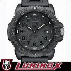 LUMINOX 腕時計 3051 BLACKOUT メンズ NAVY SEALs DIVE WATCH SERIES ネイビーシールズダイブウォッチシリーズ COLOR MARK SERIES BLACKO