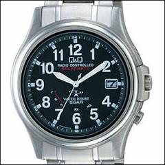 Q&Q 腕時計 キュー&キュー 時計 HG00-205 メンズ CITIZEN シチズン ソーラー電波時計