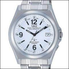 Q&Q 腕時計 キュー&キュー 時計 HG08-204 メンズ CITIZEN CBM シチズンCBM ソーラー 電波時計