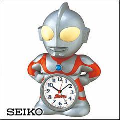 SEIKO セイコー 時計 JF336A キャラクタークロック ウルトラマン目覚まし時計