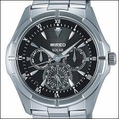 WIRED ワイアード 腕時計 AGAD032 メンズ NEW STANDARD MODEL ニュースタンダードモデル ソーラー