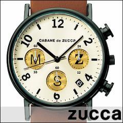 CABANE de ZUCCa カバン ド ズッカ 腕時計 AJGT001 メンズ 男女兼用 type writer タイプライター クロノグラフ