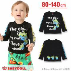NEW ディズニー メッセージロンT-ベビーサイズ キッズ ベビードール 子供服/DISNEY-9926K