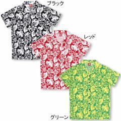SALE50%OFF アウトレット アロハシャツ(ボトム別売)大人襟付きベビードール 子供服-5012A