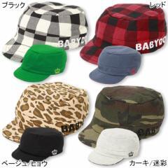 限定SALE60%OFF アウトレット リバーシブルワークキャップ(キッズサイズ) 帽子 キッズ チェック 迷彩 子供服 雑貨-5296