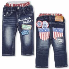 FW_SALE50%OFF BDJ_アメカジデニムロングパンツ-ベビーサイズベビードールジーンズ 子供服-5329B