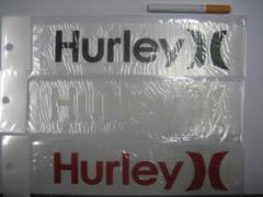 Hurley,ハーレー,サーフィン,ステッカー●STD LOGO STICKER  HAMGTY