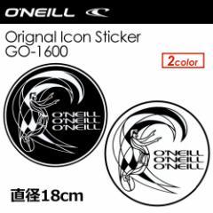 Oneill,オニール,ステッカー●Oneill Orignal Icon Sticker シールタイプ 直径18cm GO-1600