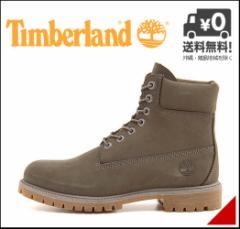ティンバーランド ブーツ メンズ アイコン 6インチ プレミアム ブーツ ICON 6inch PREMIUM BOOT Timberland A114K グレーヌバック