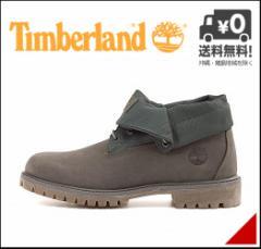 ティンバーランド メンズ ブーツ アイコン ロールトップ ファブリック&ファブリック Timberland A17QQ キャンティーン