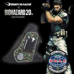 【あす着】BODYMAKER(ボディメーカー)BIOHAZARD BSAA ボディバッグ BK041(バイオハザード/ランニングバッグ)(パケット便送料無料)