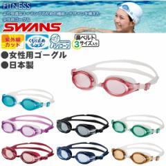 【あす着】SWANS(スワンズ)フィットネス向けゴーグル【女性用/水泳/水中メガネ】SW-30S
