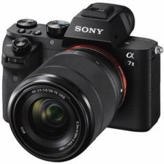 SONY ILCE-7M2K ズームレンズキット α7II [デジタル一眼カメラ (FE 28-70mm F3.5-5.6 OSS」 レンズキット 35mmフルサイズ)]【あす着】