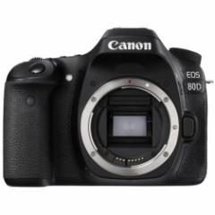 CANON EOS 80D ボディ EOS [デジタル一眼カメラ(約2420万画素)]【あす着】