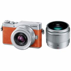 PANASONIC DC-GF9W-D オレンジ LUMIX [ミラーレス一眼カメラ ダブルレンズキット]【あす着】