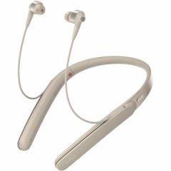 SONY WI-1000X-N シャンパンゴールド [ハイブリッド密閉カナル型イヤホン(Bluetooth対応・ハイレゾ音源対応)]