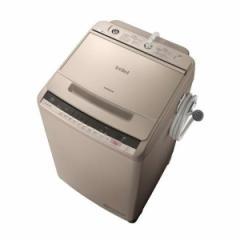 日立 BW-V100C シャンパン ビートウォッシュ [全自動洗濯機(10.0kg)]【あす着】