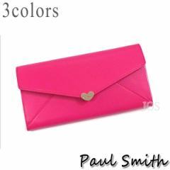 ポールスミス 財布 メンズ レディース Paul Smith ラブレター3 長財布 全3色 PWU927