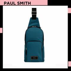 ポールスミス Paul Smith メンズ シティトラベルナイロン ボディバッグ ブルー 送料無料 代引き料有料 消費税込