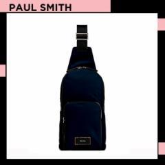 ポールスミス Paul Smith メンズ シティトラベルナイロン ボディバッグ ネイビー 送料無料 代引き料有料 消費税込