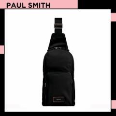 ポールスミス Paul Smith メンズ シティトラベルナイロン ボディバッグ ブラック 送料無料 代引き料有料 消費税込