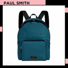 ポールスミス Paul Smith メンズ シティトラベルナイロン バックパック リュック ブルー 送料無料 代引き料有料 消費税込