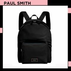 ポールスミス Paul Smith メンズ シティトラベルナイロン バックパック リュック ブラック 送料無料 代引き料有料 消費税込