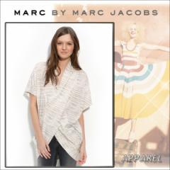 【リクエスト注文】MARC BY MARC JACOBS レディース アパレル クロスオーバー ジャージー トップ アイボリーマルチ カーディガン
