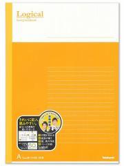 スイングロジカルノート B5 A罫オレンジ ノ-B501A-OR◆ナカバヤシ◆ロジカルノート