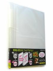 ノビータフォトアルバム160枚 ラ-NA160T◆コクヨS&T◆ポケット型アルバム
