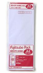 長形40定形郵便 白封筒40枚 PN-40W◆マルアイ◆長40封筒(W90×H225mm) A4サイズ4ッ折が入る封筒
