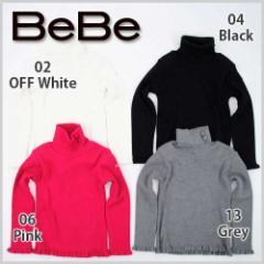 【11/15新入荷特別】62%OFF【BeBe/ベベ】ハイネックTシャツ/80-150cm-bet