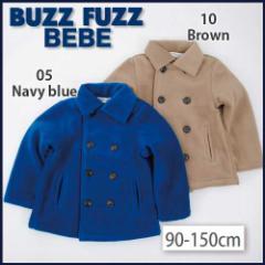 【1/24再値下げ】60%OFF【BUZZ FUZZ BEBE/バズファズ べべ】フリースコート/90-150cm-buo