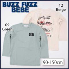 【1/24再値下げ】60%OFF【BUZZ FUZZ BEBE/バズファズ べべ】バックバイクプリントトレーナー/90-150cm-but