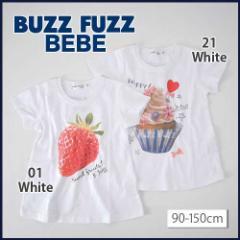 【5/16再値下げ】50%OFF【BUZZ FUZZ BEBE/バズファズ べべ】フォトプリント半袖Tシャツ/90-150cm-but