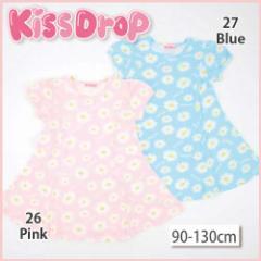 【3/21新入荷】30%OFF【KissDrop/キッスドロップ】お花柄ワンピース/90-130cm-nuw