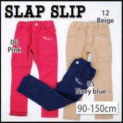 【12/22再値下げ】60%OFF【SLAP SLIP/スラップスリップ】リボンポケットストレッチ裏起毛スキニーパンツ/90-150cm-sb