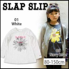 【12/22再値下げ】60%OFF【SLAP SLIP/スラップスリップ】フレアライン写真プリント天竺Tシャツ/80-150cm-st