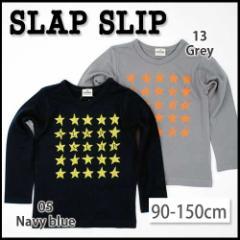 【12/22再値下げ】60%OFF【ネット・アウトレット限定】【SLAP SLIP/スラップスリップ】ホシプリントTシャツ/90-150cm-st